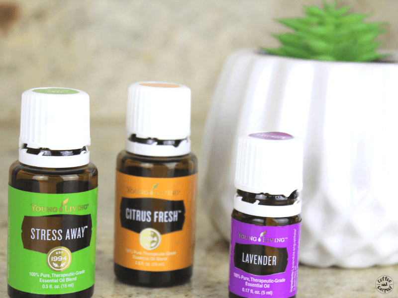 Essential oils for stress relief and to reduce anxiety. #streesaway #essentialoils #oils