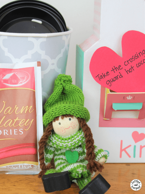 Spread Valentine's Day Kindness with the Kindness Elves #kindness #kindnesselves #raisingkindkids