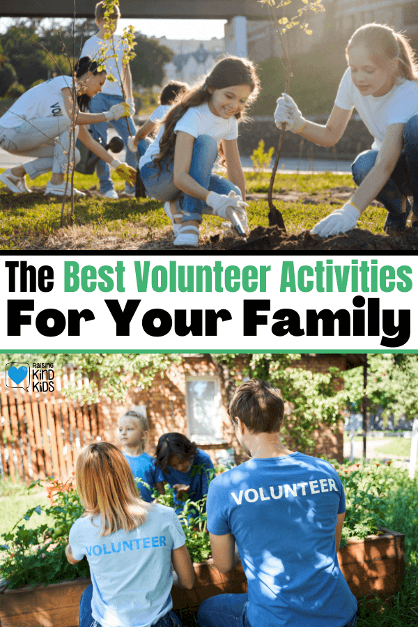These monthly, family-friendly volunteer ideas for kids will help kids make volunteering a habit and enjoy giving to different types of community service acts.