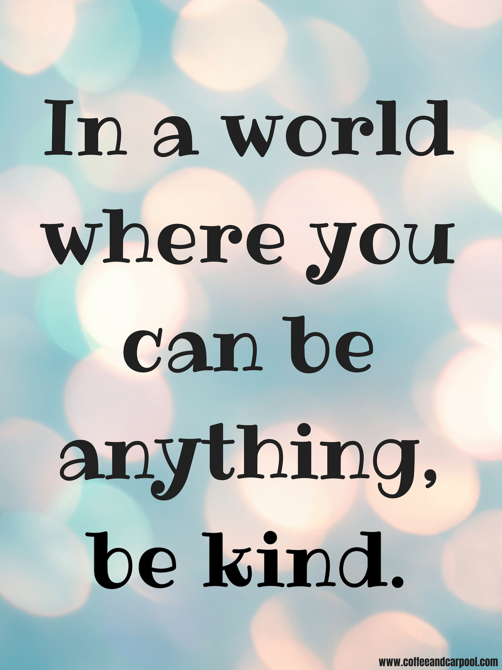 10 Kindness Posters for Families- Digital ePosters ...
