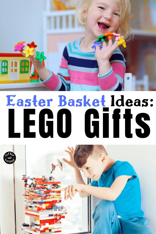 Best Easter Basket Ideas for Lego lovers. Fill up Easter Baskets with mini Legos, lego crafts, lego accessories and lego clothes. Let the Easter bunny in on these awesome Easter Basket Ideas for kids. #easter #easterbasketideas #lego #legogifts #eastergifts