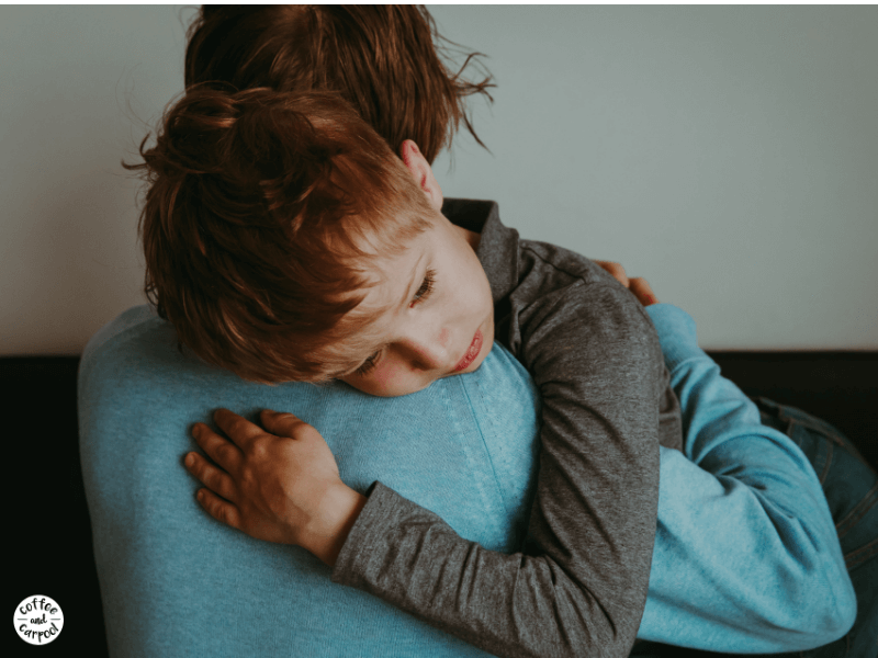 Help kids with anxiety using these kindness tips which will help kids cope with less judgement from the adults in their life #mentalhealth #anxiety #anxious #parenting #kindness #stress