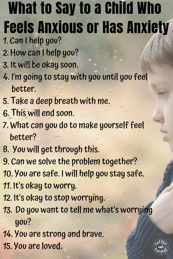 How to help a child with anxiety or a child who shows anxious behaviors. #anxiety #kidswithanxiety #anxious #parenting #mentalhealth #kindness