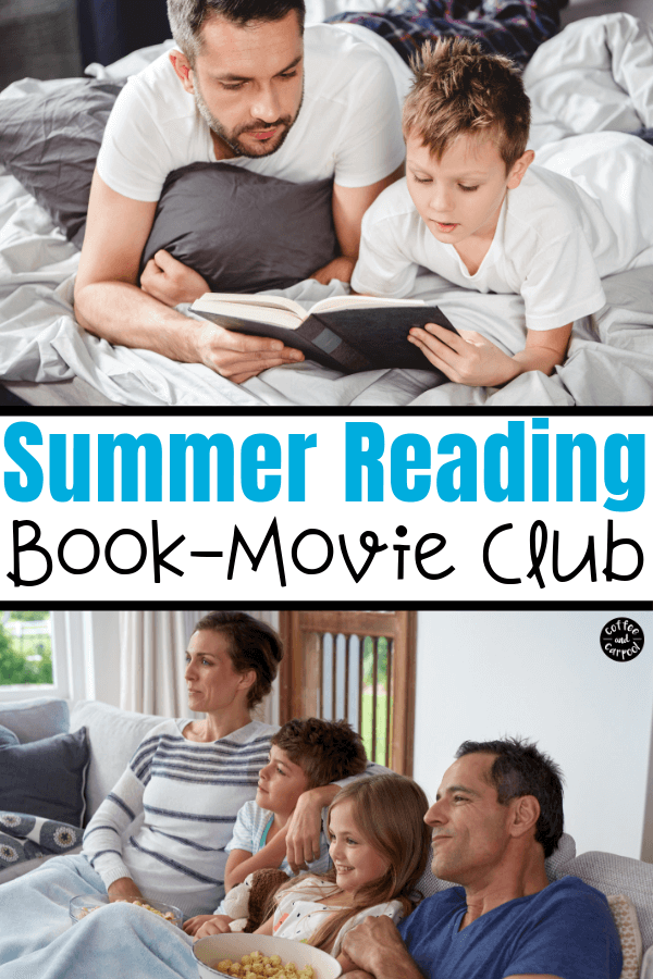 Help your reluctant readers with this trick that is perfect to encourage kids to want to read. It's also perfect as a summer reading challenge for kids. #summerreading #summerreadingchallenge #booklists #booksforreluctantreaders #reluctantreaders #reluctantreadersboys #getkidstoread #coffeeandcarpool