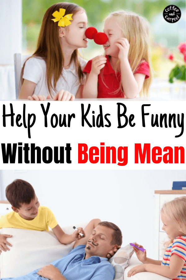 Are your kids trying to be funny but doing it in a mean way? Kids are often unkind without meaning to be. Help your kids be kind and funny at the same time. #funny #kidsjokes #kindness #kindkids #
