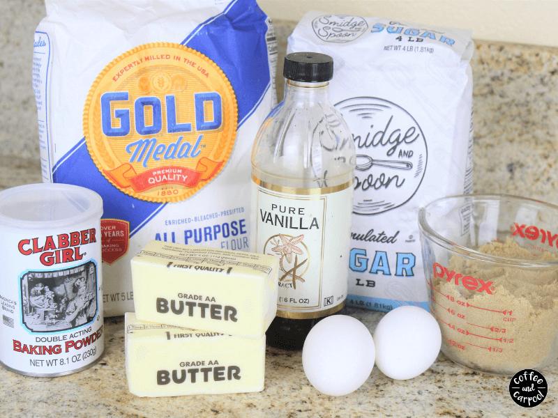 Friendship cookie ingredients
