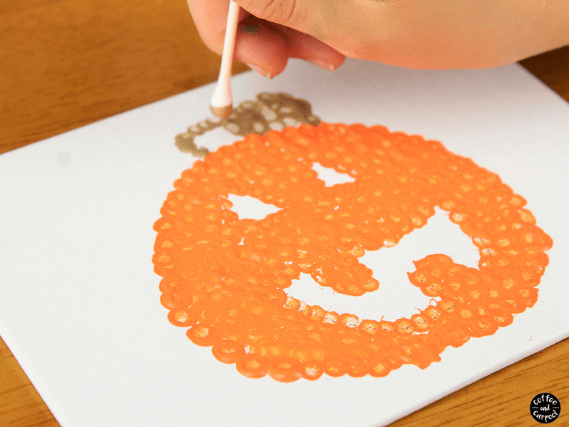 Jack o'lantern art project stem