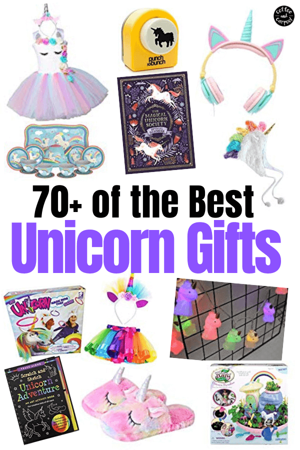 Great Easter Basket ideas for kids who love all things unicorns: unicorn earrings, unicorn books, unicorn accessories, unicorn crafts. Let the Easter Bunny hide these unicorn gift ideas #unicorns #unicorngifts #easterbasket #easterbasketideas