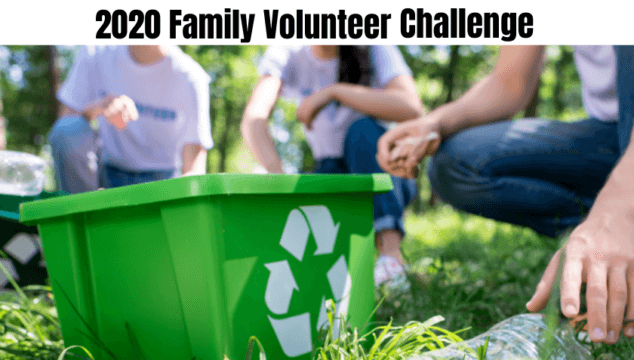 Join our 2020 Family Volunteer Challenge as each month we teach our kids the art and the heart of giving back, donating, volunteering, and community service. It doesn't matter what you call your donations or your volunteering. It's teaching them to give to others because kindness matters. These are 12 kindness activities for kids #kindnessmatters #volunteer #communityservice #giveback #donating #kidvolunteer #tikkunolam #tzedakah #
