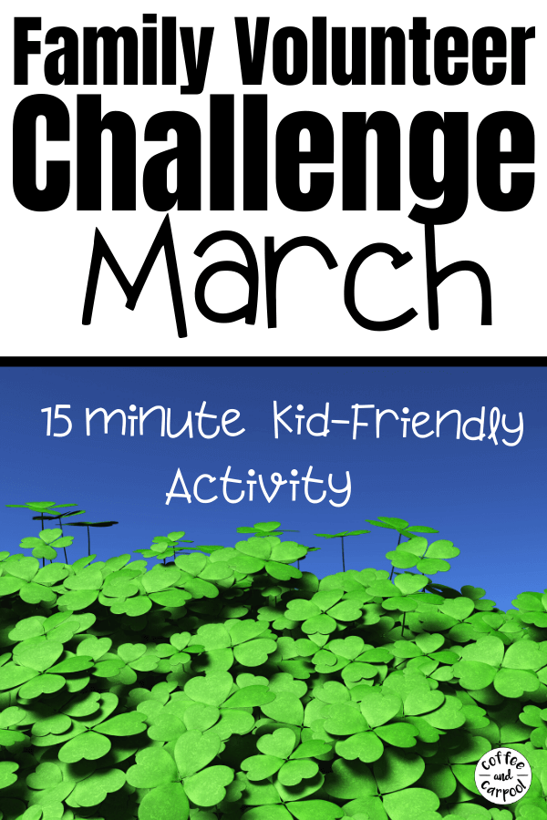 The Family Volunteer Challenge for March is a fun and simple way for our kids to connect with and help the senior citizens in our community who feel lonely or alone. #volunteer #volunteerchallenge #kidshelping #raisingkindkids #helpers #raisinghelpers #raisingvolunteers #giveback #kidvolunteers #volunteeringwithkids #familyvolunteerideas #kidsvolunteerideas