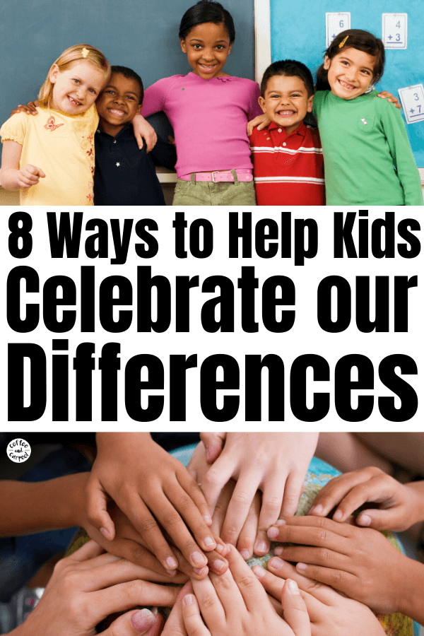 We need to go beyond teaching diversity and embracing multicultural studies...we need to celebrate our differences so we can value each other. And it starts with these 8 steps we can do with kids in our own homes and classes. #diversity #celebratediversity #celebratedifferences #teachdiversity #teachmulticulturalstudies #sel #selcurriculum #diversityeducation