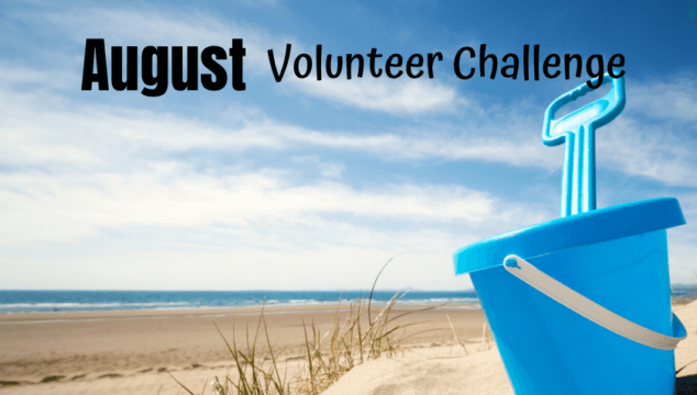 Spread Kindness this August with this family friendly Volunteer Challenge you can do with your kids to help students get school supplies they don't have access to. #volunteerchallenge #volunteeringwithkids #schoolsupplydrive #volunteers #kindnessactivitiesforkids