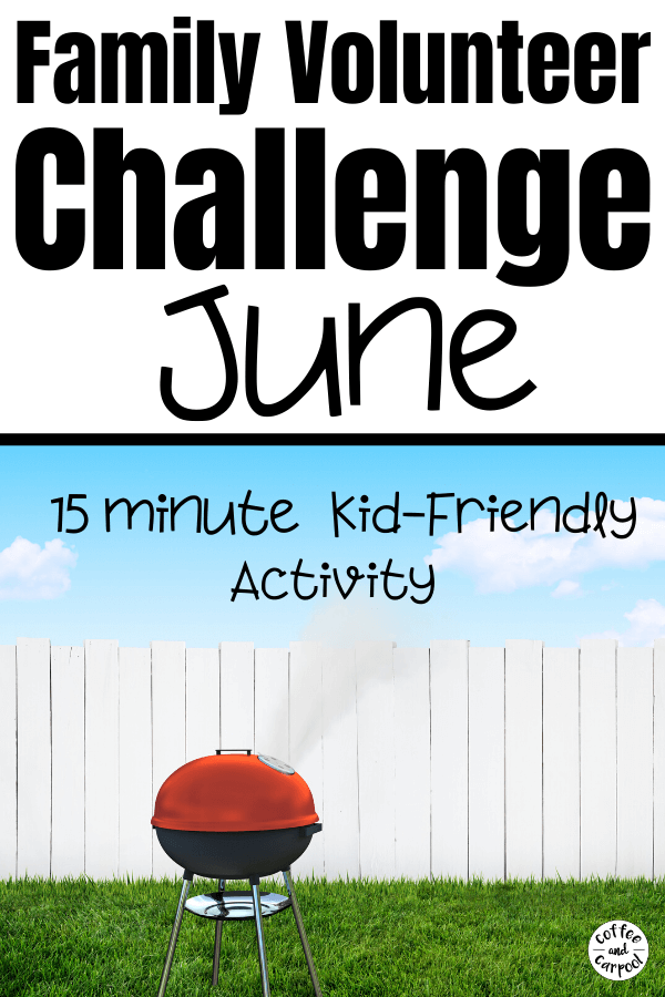 Join our June challenge for our Family Volunteer Challenge as each month we teach our kids the art and the heart of giving back, donating, volunteering, and community service. It doesn't matter what you call your donations or your volunteering. It's teaching them to give to others because kindness matters. These are 12 kindness activities for kids #kindnessmatters #volunteer #communityservice #giveback #donating #kidvolunteer #tikkunolam #tzedakah #