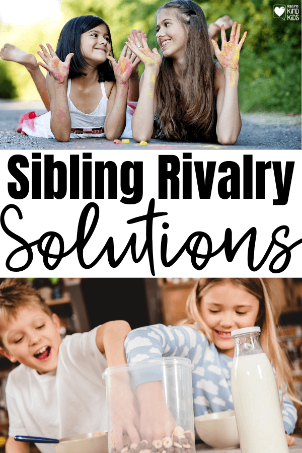 Put an end to sibling rivalry, sibling bickering, and sibling fighting with these simple sibling rivalry solutions. We use love languages for kids to help our kids build more positive relationships with each other. #siblings #siblingrelationships #lovelanguages #lovelanguagesforkids #lovelanguages