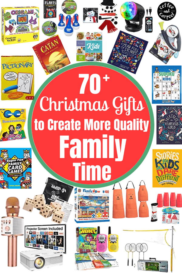 Create more quality family time with these family time ideas at home and gifts to build a strong family identity. #familytime #qualityfamilytime #familyidentity