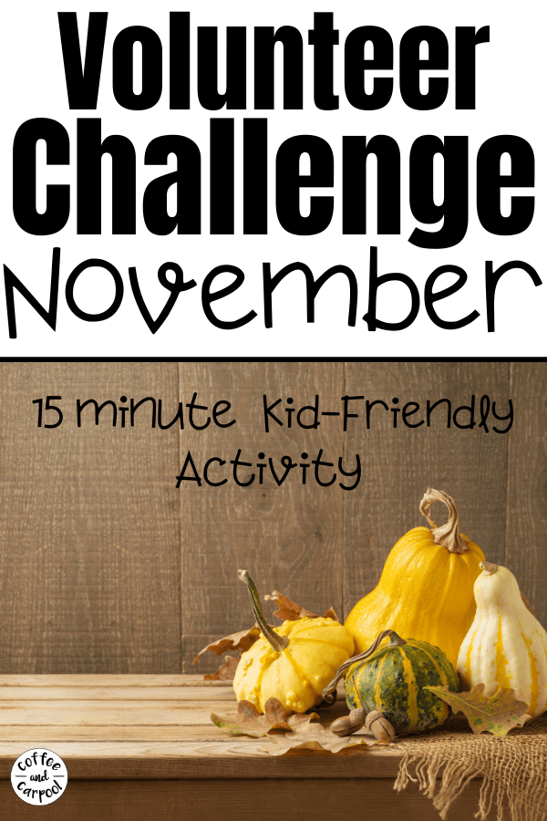 """Spread kindness as a family through this Family Volunteer Challenge for November by gathering items for """"blessing bags"""" to donate them to people who need them."""