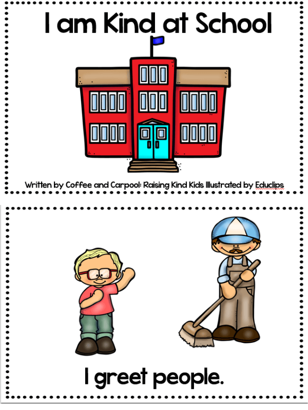 Use our kindness emergent reader to teach sel curriculum to your students. This freebie printable is perfect for young students and character education.