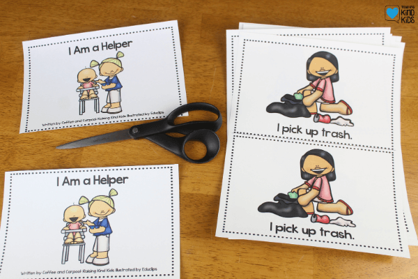 Use this kindergarten emergent readers set to help students with sel learning and character education.