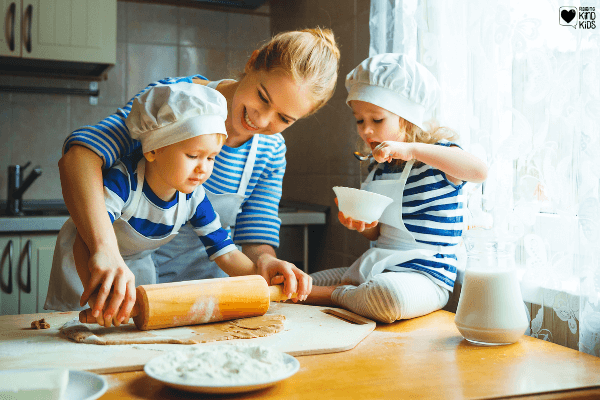 These 10 family bonding activites at home are the perfect way to stay indoors but connect as a family. These family fun ideas at home will help you build a strong family identity and focus on what's really important: family.