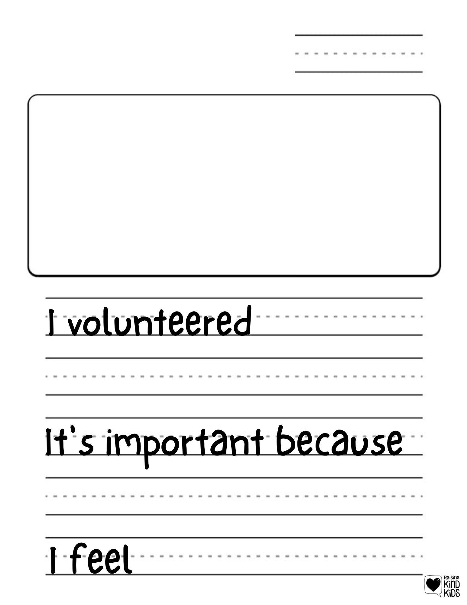 Make volunteering more meaningful and impactful with this volunteer journal and 7 other ways to make volunteering more of a habit for kids.