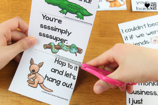 To use the writing, students can sound out their sentences, dictate their sentences, or copy ideas off the board/paper. Or if you're in a class setting, you can do a group writing as a class.