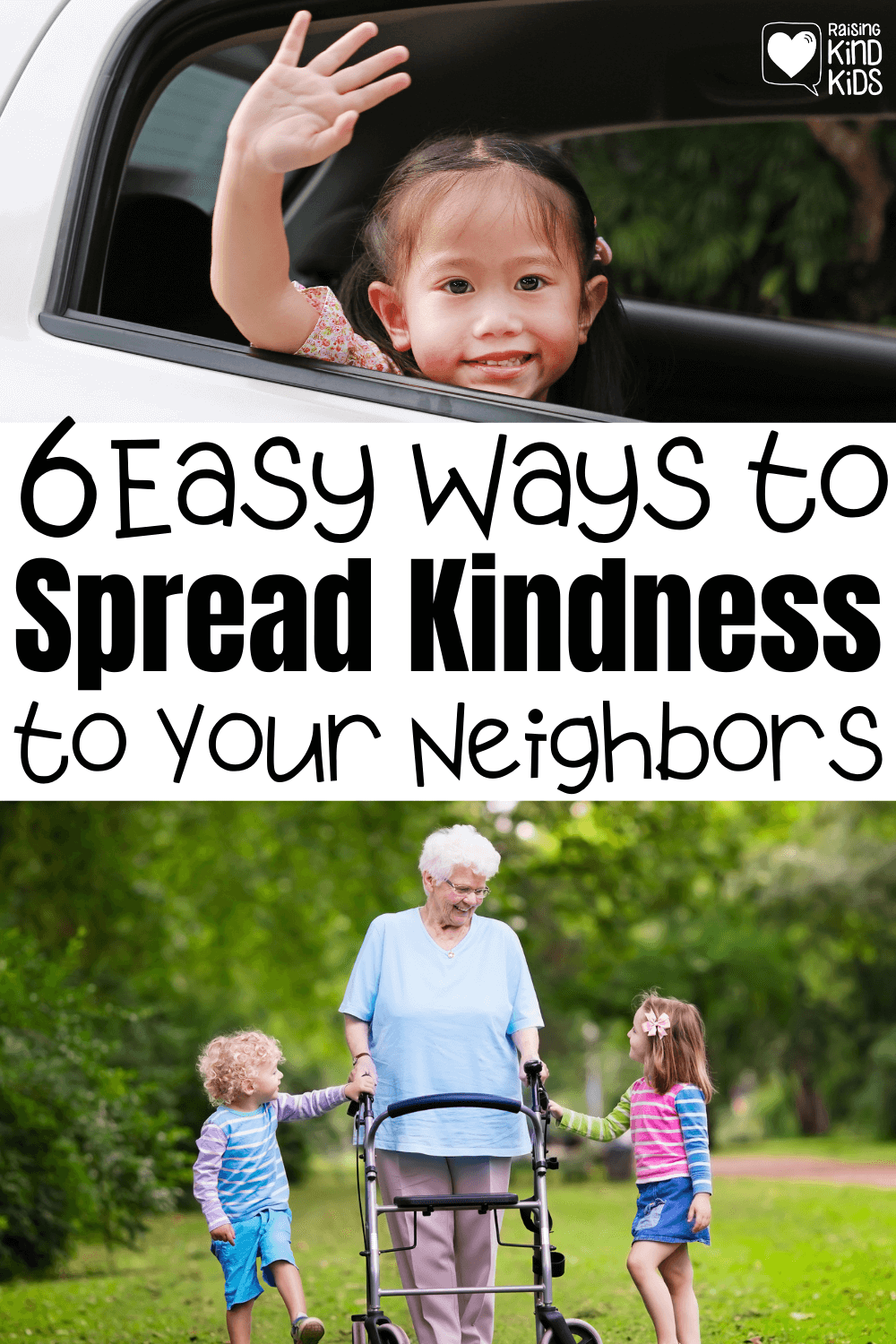 These 6 easy ways to spread kindness to your neighbors will help you connect with your neighbors and make their days a little easier.