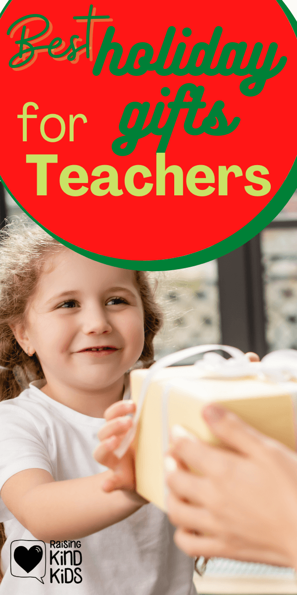 Looking for teachers gifts for December? You'll love these best holiday gifts for teachers ideas that are teacher approved and within your budget!