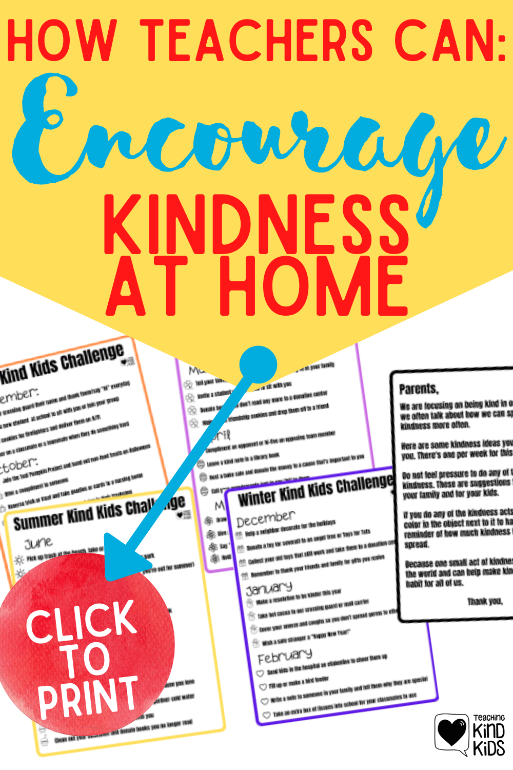 Encourage more kindness at home with your students and their families. Educators can send home these seasonal kindness printables and family connection letter to encourage families to speak and act with kindness together.