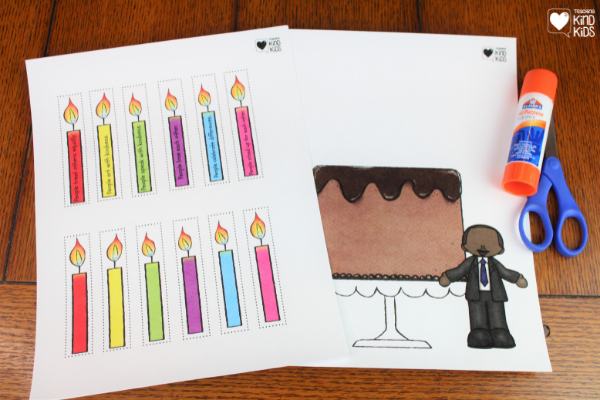 Celebrate and honor Dr. Martin Luther King Jr's birthday with this Birthday Wish for Martin. It's a great way to celebrate MLK and teach SEL curriculum in January.