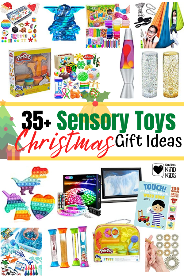 Best sensory toys and gifts for kids who are sensory seeking or who have spd (sensory processing disorder)