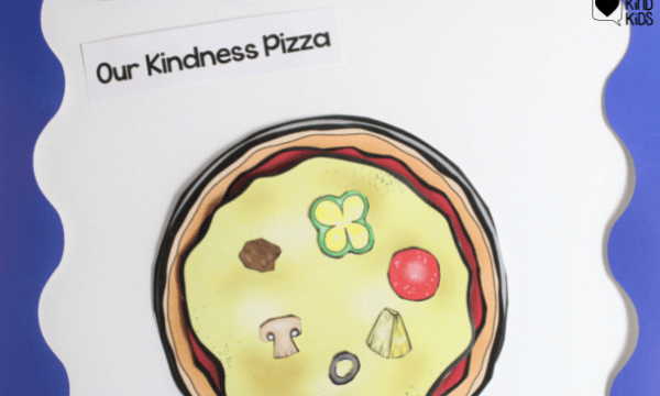 Use this Pizza Kindness to celebrate, reward and encourage more classroom kindness.