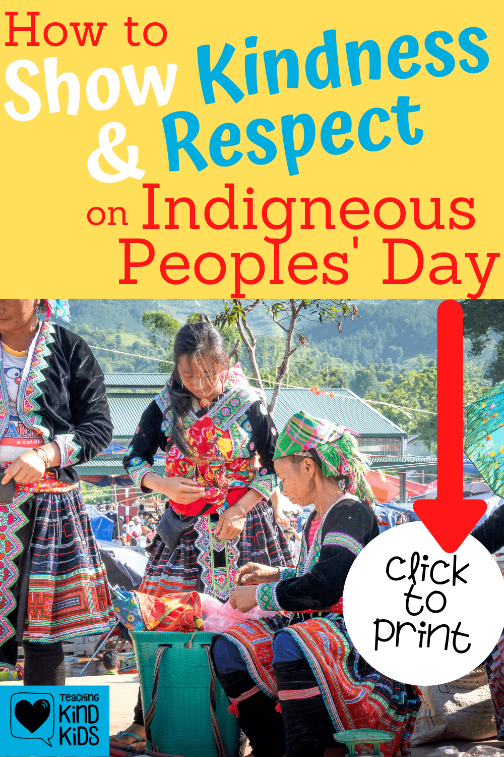 Honor and celebrate Indigenous Peoples' Day with this free printable to help students understand whose land they're living on in a respectful and kind way.